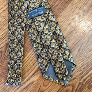 Vintage Gold Royalty Nordstrom Silk Tie 👑